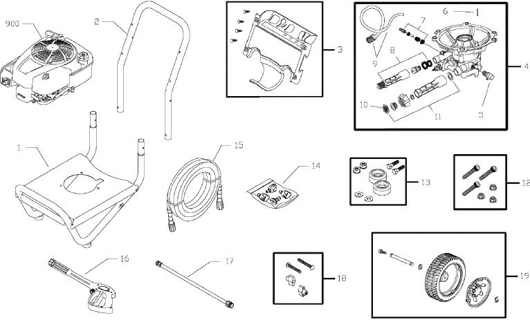 Briggs & Stratton 020401-0 replacement parts and upgrade