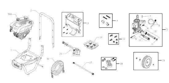 020431-0 Replacement Parts, pump breakdown, repair kits