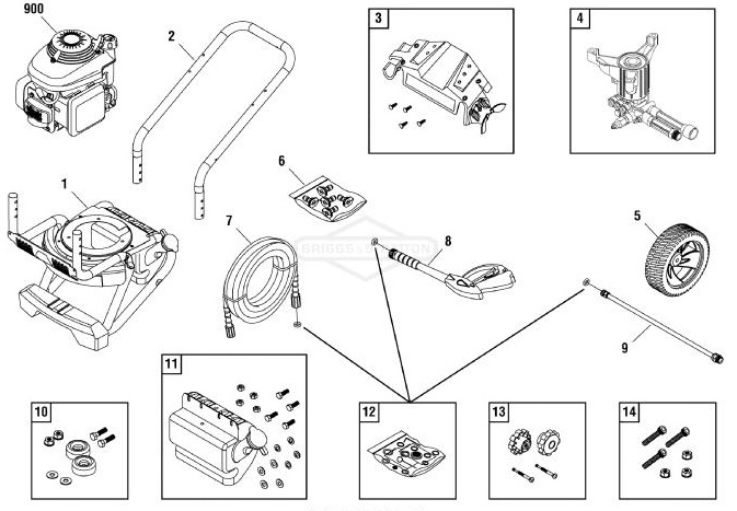 Gcv190 Honda Presure Washer Parts Diagram. Honda. Auto