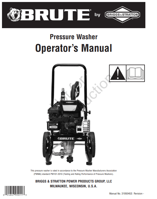020553-1 Owners Manual