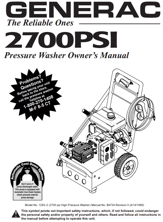 1293 Owners Manual