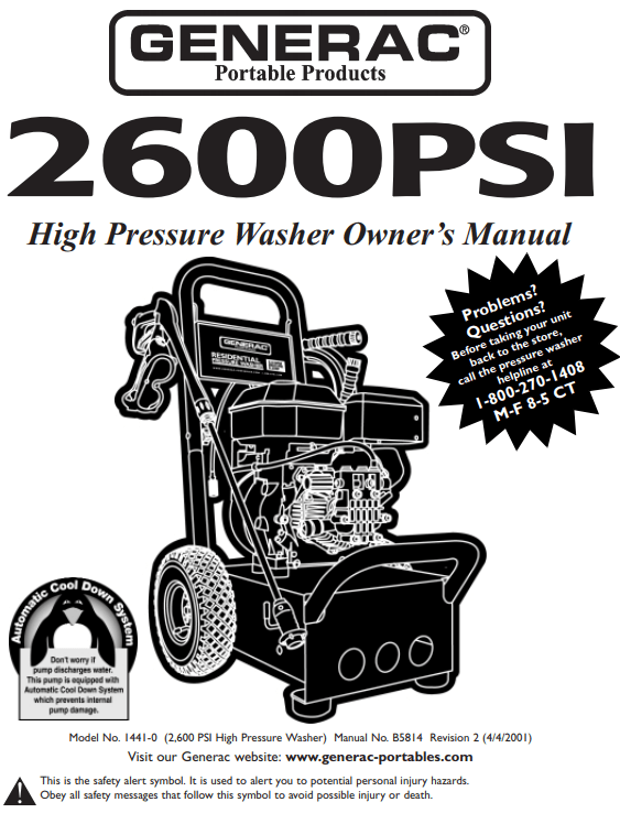 1441 Owners Manual