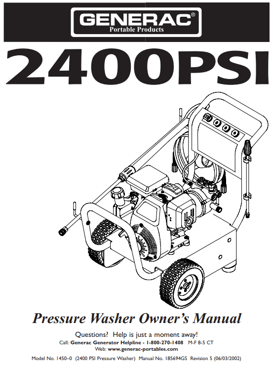 1550 Owners Manual