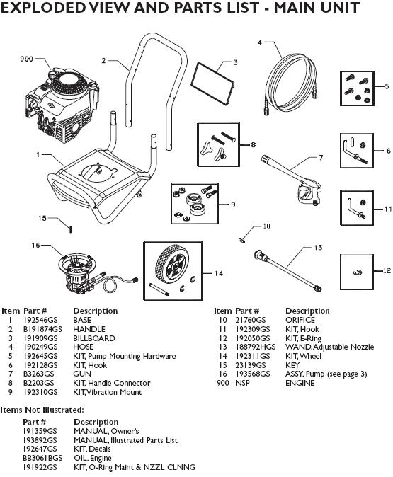 Washer Parts: Briggs And Stratton Pressure Washer Pump Parts