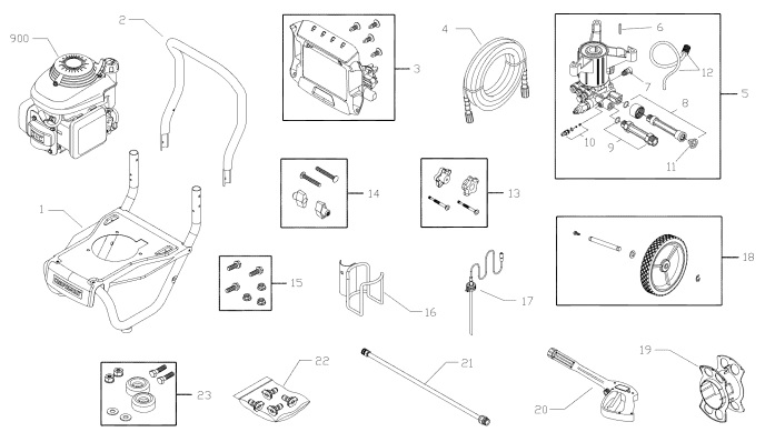 Sears craftsman 580752610 replacement parts, pump