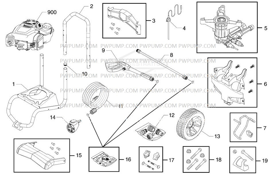 sears craftsmanPressure Washer Model 580754900 replacement