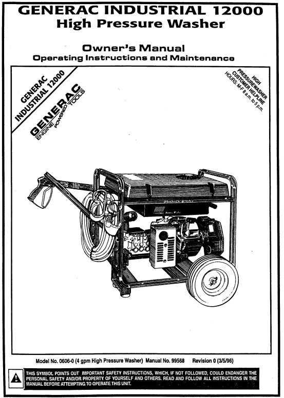 9728 Owners Manual