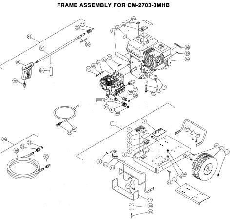 Washer Parts: Chore Master Pressure Washer Parts
