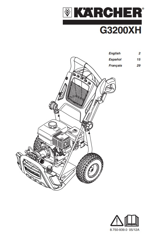 G3200XH Owners Manual