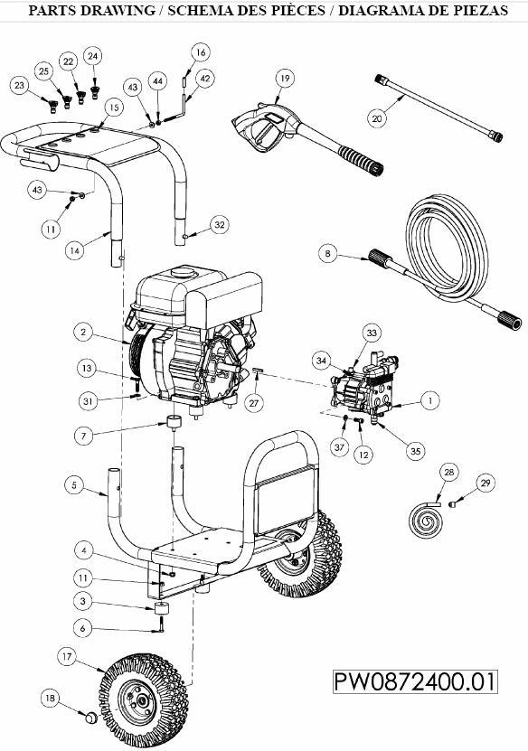 Pwh2500 pressure washer manual