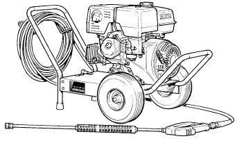 PW2000-SC Pressure Washer Parts, breakdown, and upgrade pumps