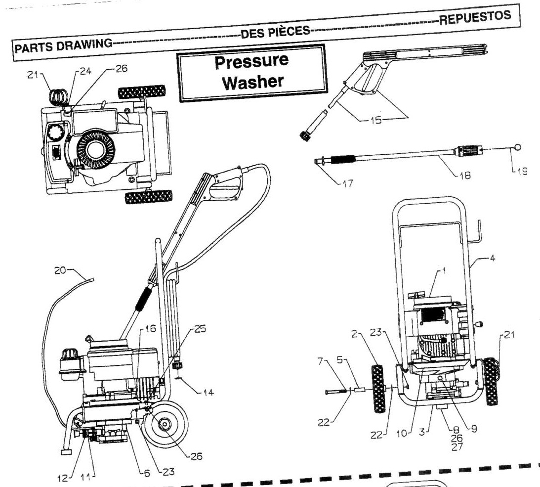Coleman Powermate Pressure Washer Parts Manual