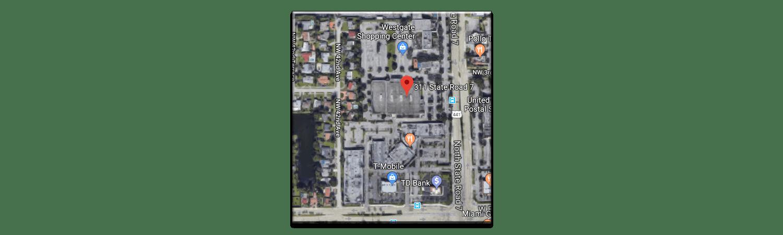 311 N SR 7 Map