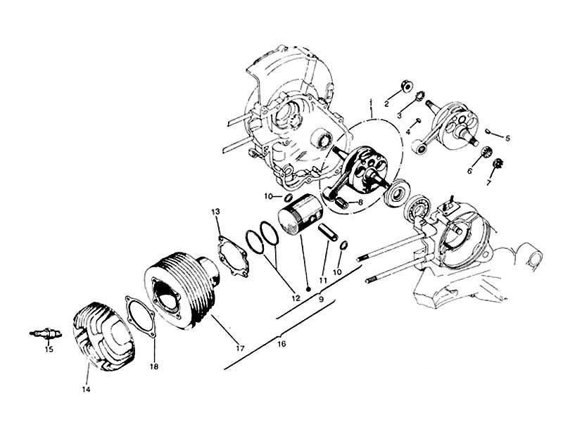 VESPA PIAGGIO ZYLINDER KIT PX 150 – 57 MM