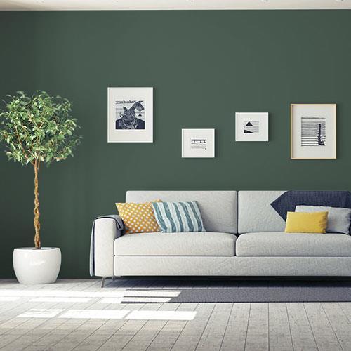 dark green velvet ppg1136