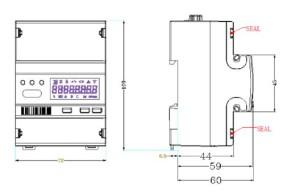 Smart Electric Energy Meter EM418