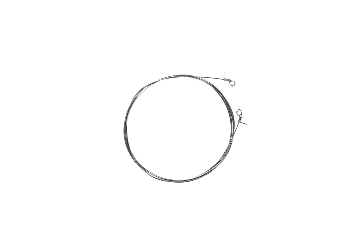 hight resolution of round piano wire