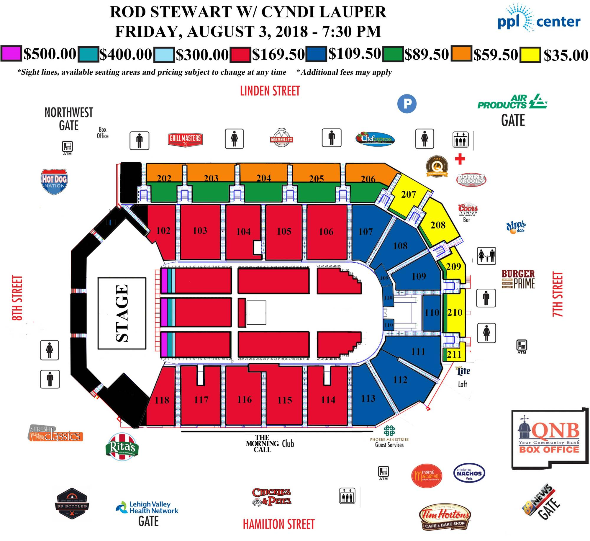 hight resolution of rod stewart seating chart web updated bcd9e80285