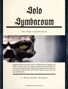 Symbaroum Solo Cover