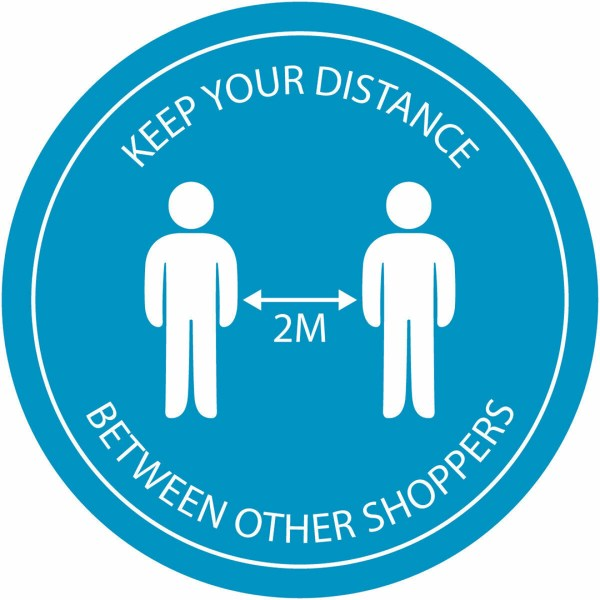 Vinyl-Stickers--Keep-Your-Distance-Covid-19