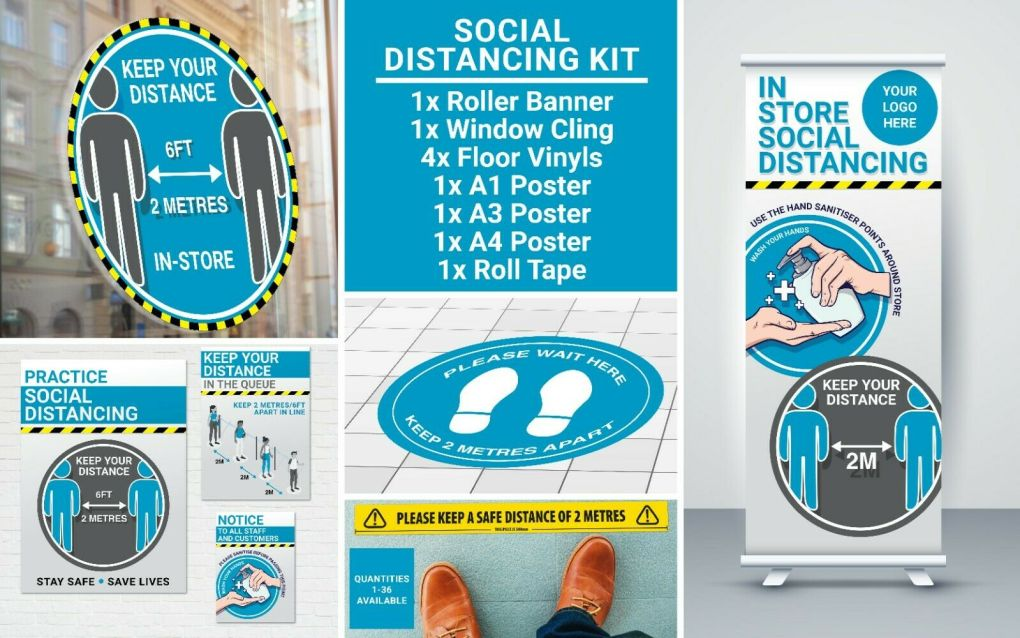 social distancing kit