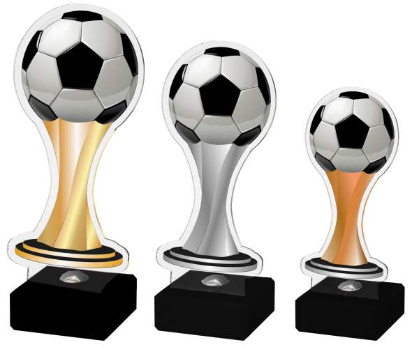 Akrylstatuett Fotball 1