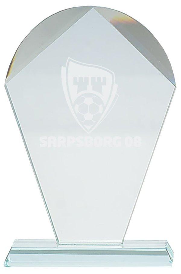 Plakett i krystall CR.10 2