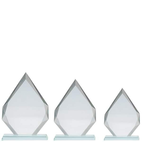 Plakett i krystall CR.1