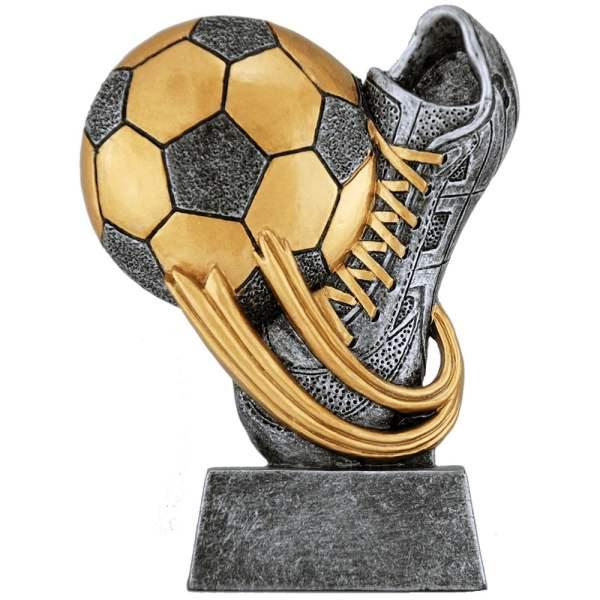 Resinstatuett - EW.M - Fotball