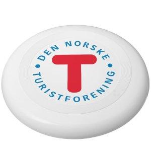 Frisbee Hvit - Frisbee med trykk