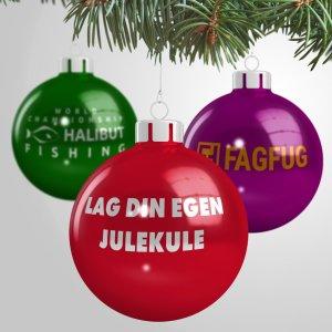 Julekule 8 - Julekuler med trykk