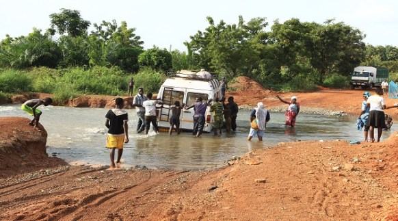 eastern corridor road exposed by nduom