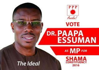 PPP shama paapa essuman dr