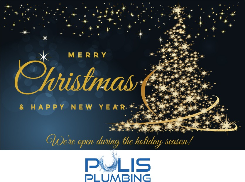 Pulis Plumbing: We're open during the holiday season!!