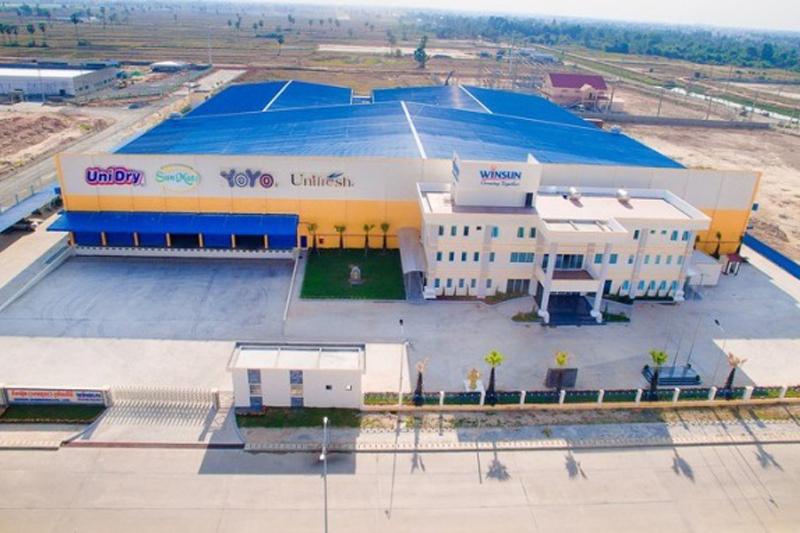 Grand Opening for WINSUN (CAMBODIA) CO., LTD.
