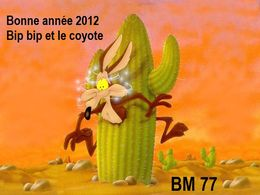 PPS Bonne année 2012 bip bip