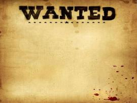 Wanted Ppt Backgrounds Download Free Wanted Powerpoint