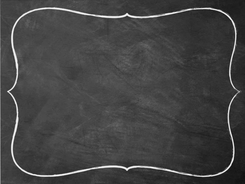 Black And White Victorian Wallpaper Chalkboard With Border Clipart Backgrounds For Powerpoint