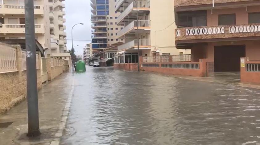 El Partido Popular exige pruebas al Gobierno de Compromís sobre la financiación del colector de la  playa por parte de la Generalitat