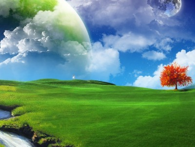 nature - free ppt backgrounds