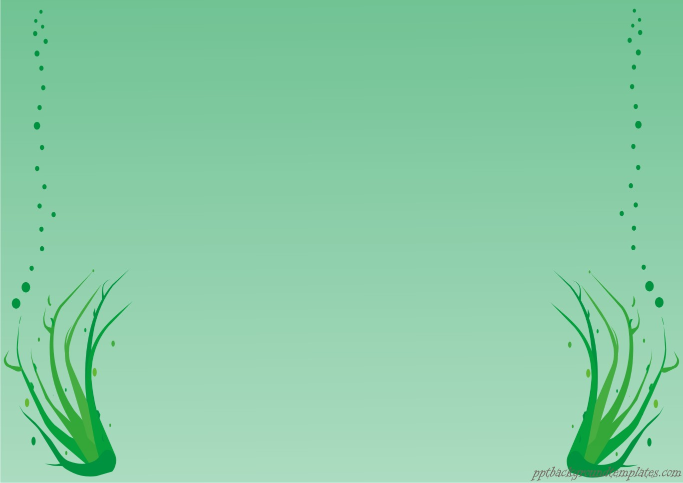 Green border Free PPT Backgrounds for your PowerPoint