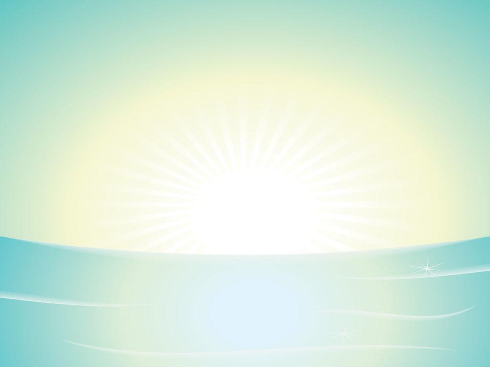 Light Sunshine Design Backgrounds Design Nature PPT
