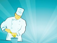 Cooking Chefs Backgrounds | Foods & Drinks Templates ...