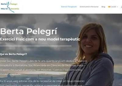 Diseño Web – Berta Pelegrí | Mou-te i venceràs