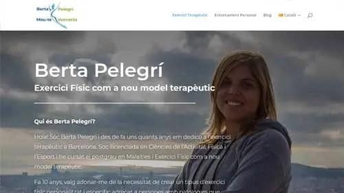 diseño web design berta pelegri mou-te venceras ejercicio terapeutico