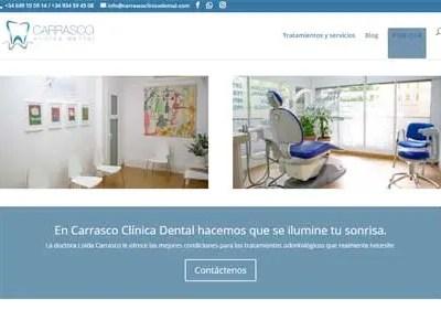 Diseño Web – Carrasco Clínica Dental