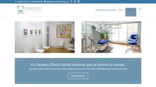 carrasco-clinica-dental-diseño-web-design