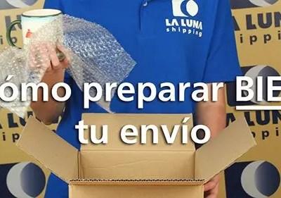 Stop-Motion «Consejos para tus envíos» – LA LUNA shipping