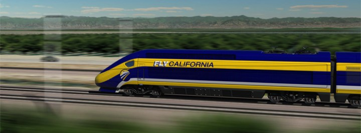 High Speed Train – Palmdale to La