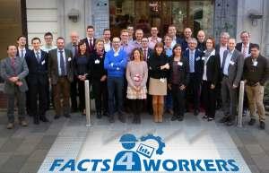 """Feierlicher Start des 7,9 Millionen Euro Projekts """"Facts4Workers"""" in Graz (Österreich) mit 15 europäischen Forschungspartnern, um Arbeitsplätze in der Fabrik der Zukunft attraktiv und intelligent zu gestalten und Europa als Produktionsstandort zu stärken © Foto: Virtual Vehicle"""